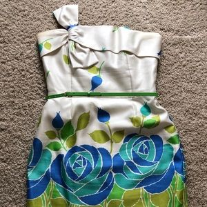 Strapless Floral Kate Spade Size 10